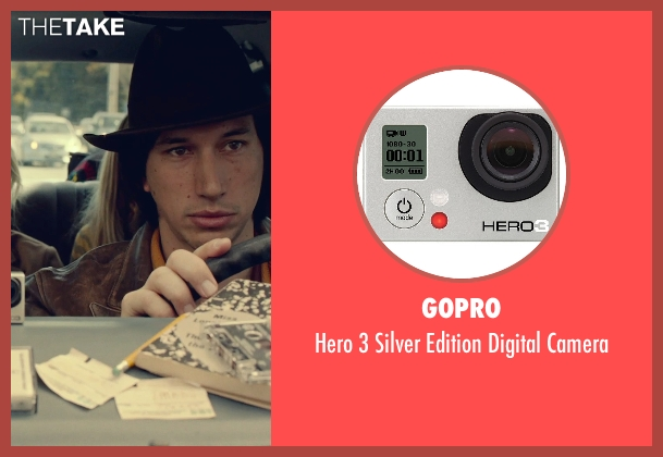 GoPro camera from While We're Young seen with Adam Driver (Jamie)