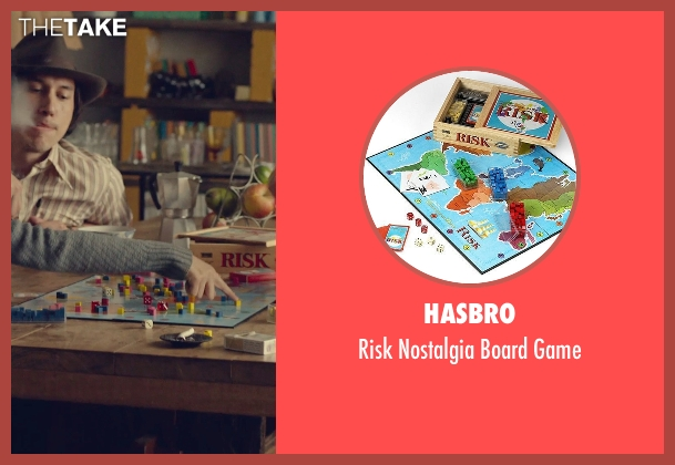 Hasbro game from While We're Young seen with Adam Driver (Jamie)