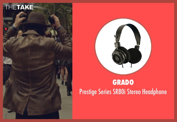 Grado headphone from While We're Young seen with Adam Driver (Jamie)