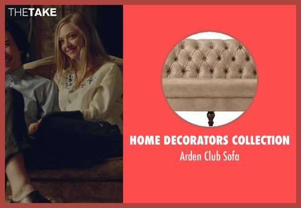 Home Decorators Collection sofa from While We're Young seen with Adam Driver (Jamie)