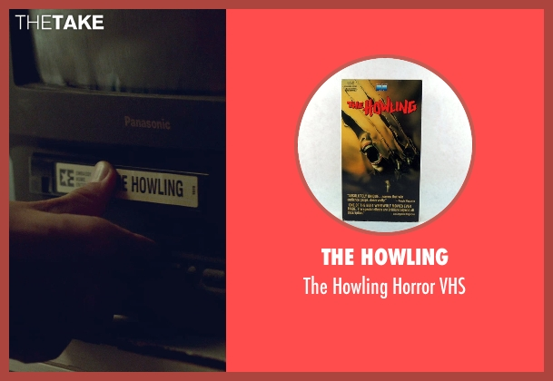 The Howling vhs from While We're Young seen with Adam Driver (Jamie)