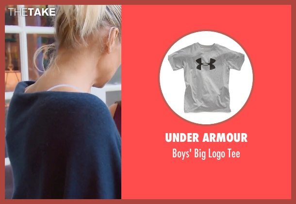 Under Armour gray tee from (500) Days of Summer seen with Adam Emery (Tom - Age 12)