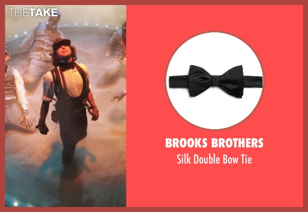 BROOKS BROTHERS black tie from Step Up: All In seen with Adam G. Sevani (Moose)