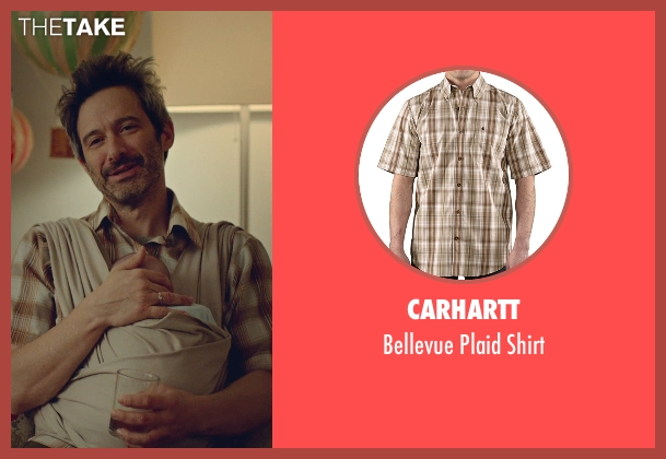 Carhartt brown shirt from While We're Young seen with Adam Horovitz (Unknown Character)