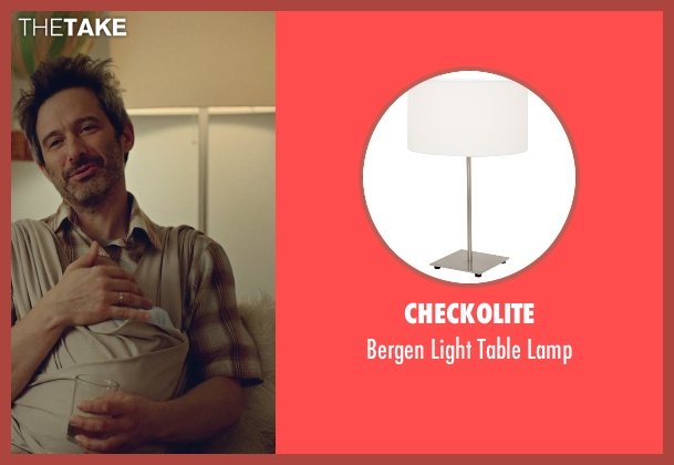 Checkolite lamp from While We're Young seen with Adam Horovitz (Unknown Character)