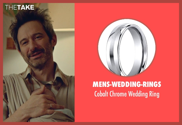 Mens-Wedding-Rings ring from While We're Young seen with Adam Horovitz (Unknown Character)