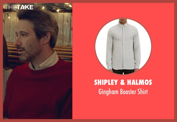 Shipley & Halmos white shirt from While We're Young seen with Adam Horovitz (Unknown Character)