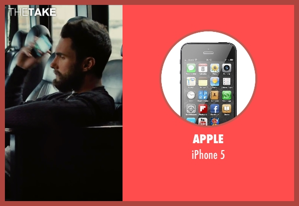 Apple 5 from Begin Again seen with Adam Levine (Dave)