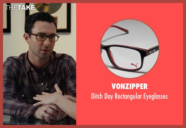 VonZipper black eyeglasses from Begin Again seen with Adam Levine (Dave)