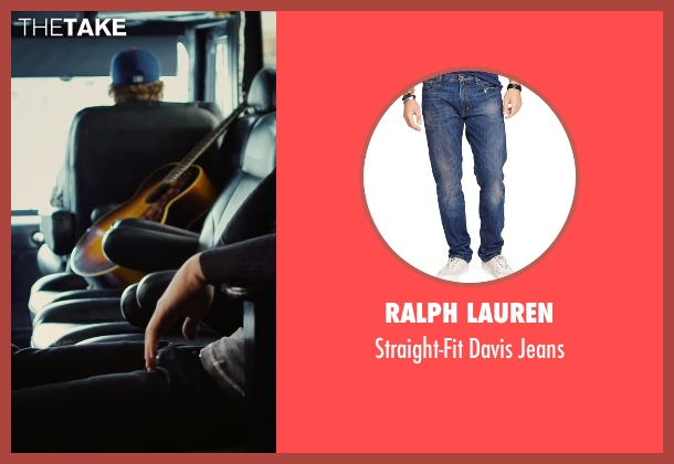 Ralph Lauren blue jeans from Begin Again seen with Adam Levine (Dave)