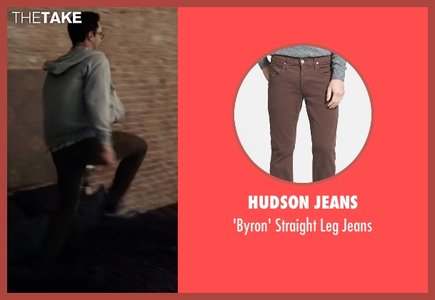 Hudson Jeans brown jeans from Begin Again seen with Adam Levine (Dave)