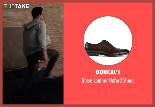 Doucal's brown shoes from Begin Again seen with Adam Levine (Dave)