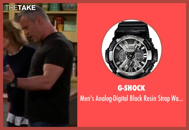 G-Shock black watch from Man With A Plan seen with Adam (Matt LeBlanc)