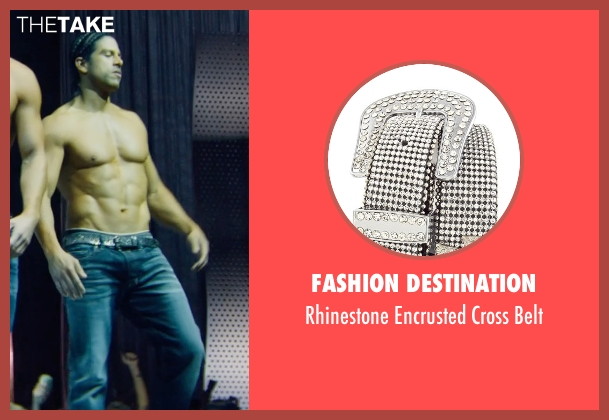 Fashion Destination black belt from Magic Mike XXL seen with Adam Rodriguez (Tito)