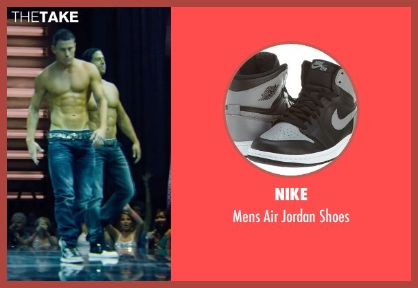 Nike black shoes from Magic Mike XXL seen with Adam Rodriguez (Tito)