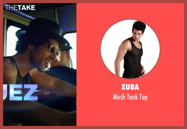 Xuba black top from Magic Mike XXL seen with Adam Rodriguez (Tito)