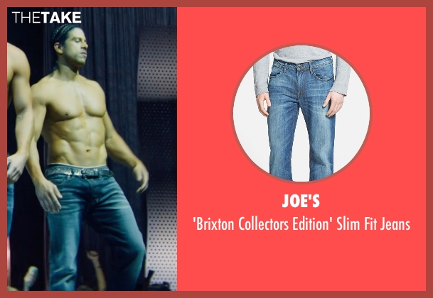 Joe's blue jeans from Magic Mike XXL seen with Adam Rodriguez (Tito)