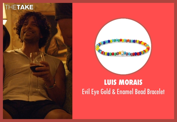 Luis Morais bracelet from Magic Mike XXL seen with Adam Rodriguez (Tito)