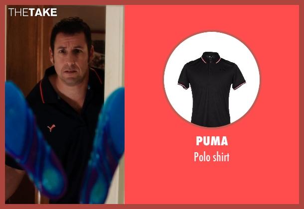 PUMA black shirt from Blended seen with Adam Sandler (Jim Friedman)