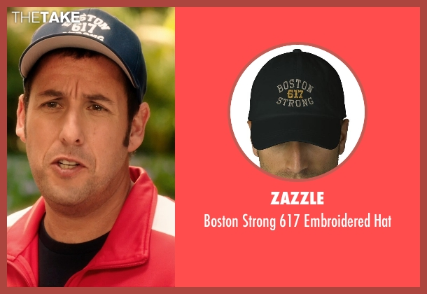 Zazzle blue hat from Blended seen with Adam Sandler (Jim Friedman)