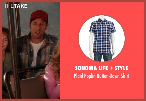 SONOMA life + style shirt from Blended seen with Adam Sandler (Jim Friedman)