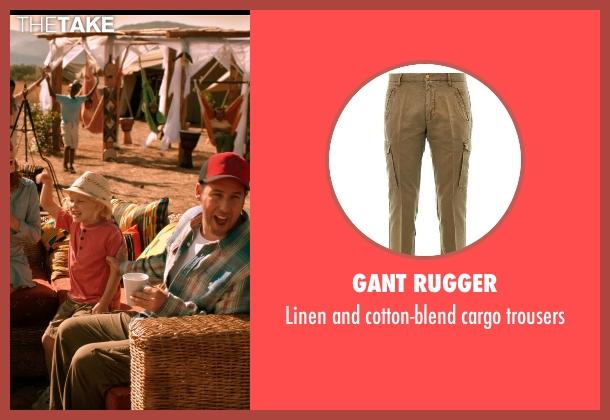 GANT RUGGER trousers from Blended seen with Adam Sandler (Jim Friedman)