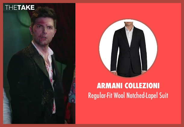 Armani Collezioni black suit from Hot Tub Time Machine 2 seen with No Actor (Adam)