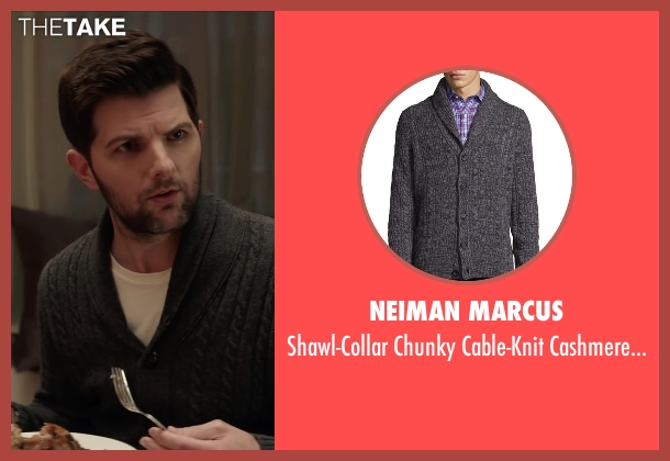 Neiman Marcus gray gray from Krampus seen with Adam Scott (Unknown Character)