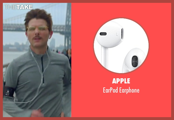Apple earphone from Sleeping with Other People seen with Adam Scott (Unknown Character)