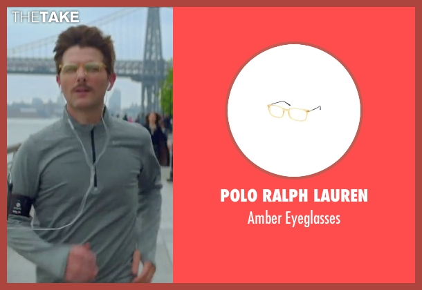 Polo Ralph Lauren eyeglasses from Sleeping with Other People seen with Adam Scott (Unknown Character)