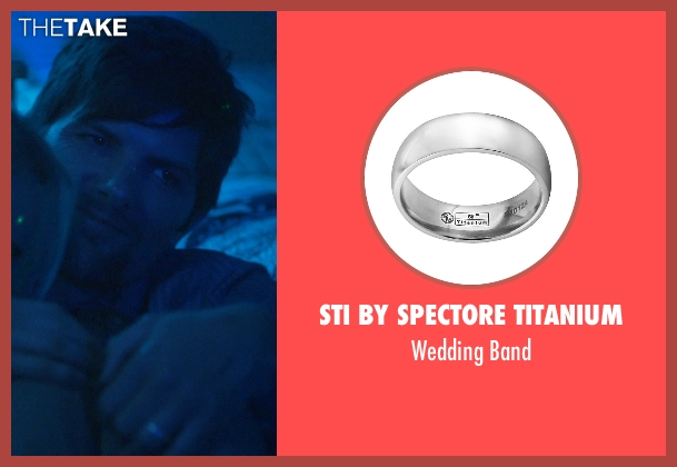 STI by Spectore Titanium silver band from The Overnight seen with Adam Scott (Alex)