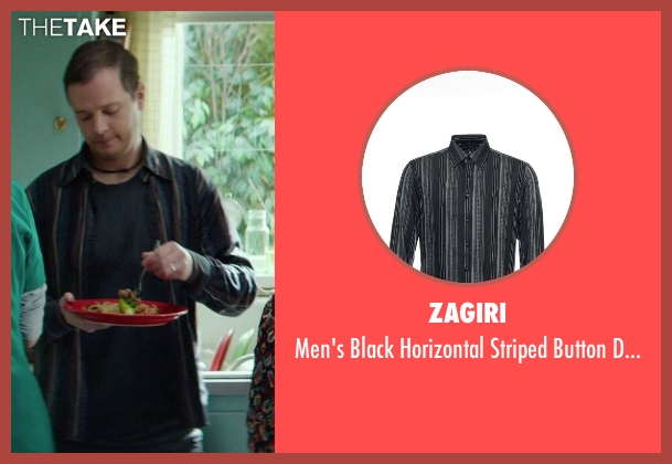 Zagiri black shirt from If I Stay seen with Adam Solomonian (Henry)