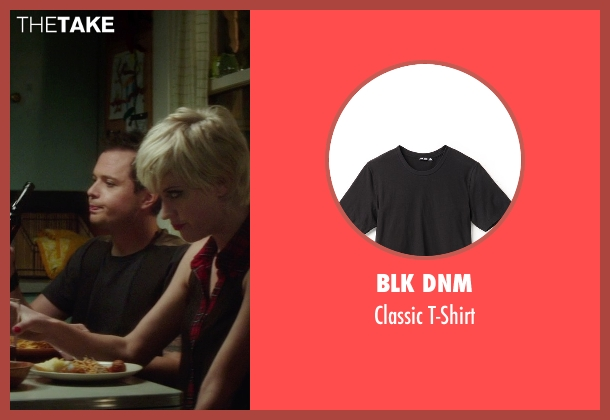BLK DNM black t-shirt from If I Stay seen with Adam Solomonian (Henry)