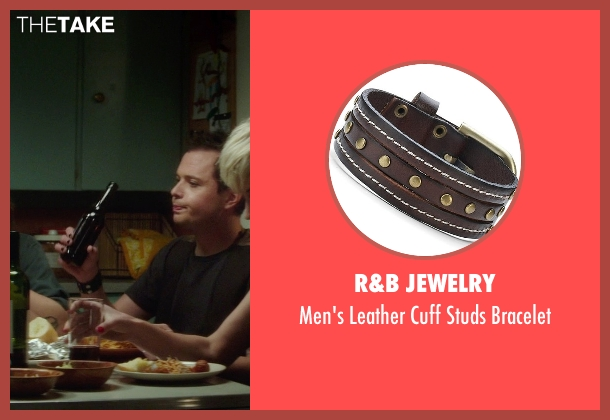 R&B Jewelry brown bracelet from If I Stay seen with Adam Solomonian (Henry)