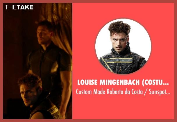 Louise Mingenbach (Costume Designer) costume from X-Men: Days of Future Past seen with Adan Canto (Roberto da Costa / Sunspot)