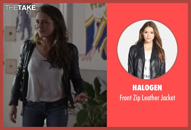 Halogen black jacket from That Awkward Moment seen with Addison Timlin (Alana)