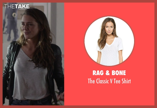 Rag & Bone white shirt from That Awkward Moment seen with Addison Timlin (Alana)
