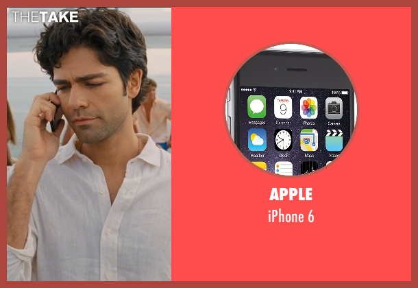 Apple 6 from Entourage seen with Adrian Grenier (Vincent Chase)