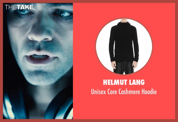 Helmut Lang black hoodie from Entourage seen with Adrian Grenier (Vincent Chase)