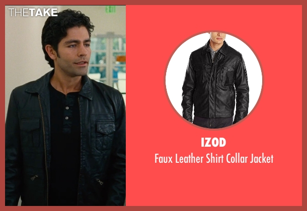 Izod black jacket from Entourage seen with Adrian Grenier (Vincent Chase)
