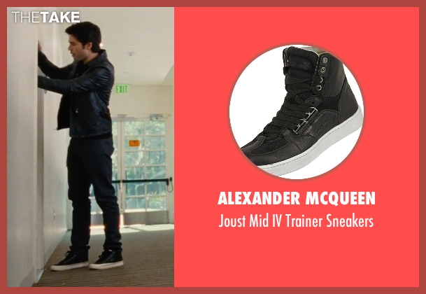 Alexander McQueen black sneakers from Entourage seen with Adrian Grenier (Vincent Chase)