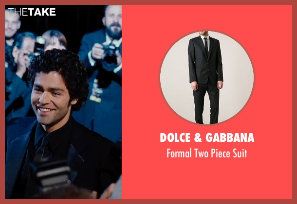 Dolce & Gabbana black suit from Entourage seen with Adrian Grenier (Vincent Chase)
