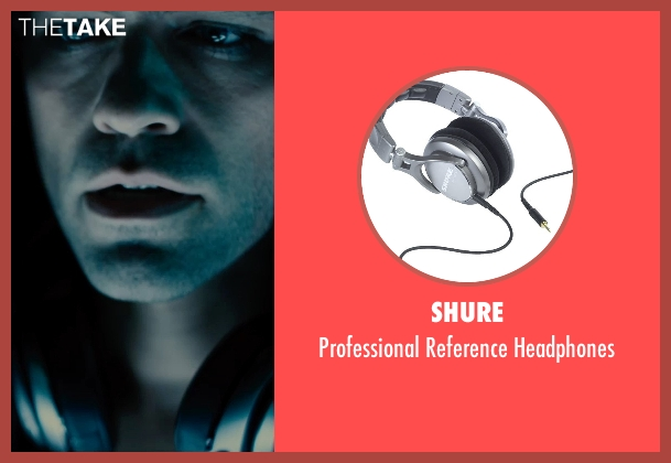 Shure silver headphones from Entourage seen with Adrian Grenier (Vincent Chase)