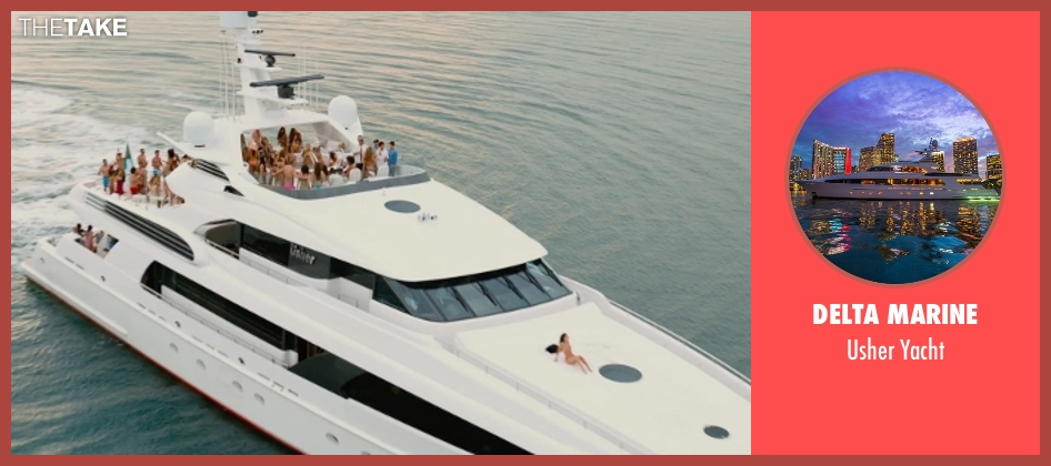 Delta Marine yacht from Entourage seen with Adrian Grenier (Vincent Chase)
