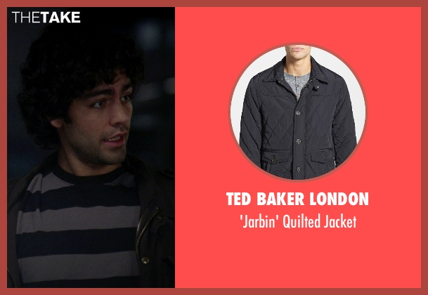 Ted Baker London black jacket from The Devil Wears Prada seen with Adrian Grenier (Nate)