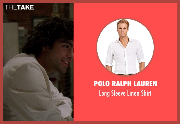 Polo Ralph Lauren white shirt from The Devil Wears Prada seen with Adrian Grenier (Nate)