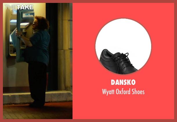 Dansko black shoes from Focus seen with Adrian Martinez (Farhad)