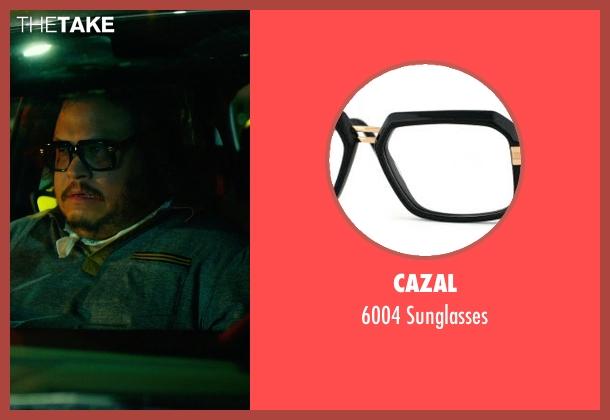 Cazal black sunglasses from Focus seen with Adrian Martinez (Farhad)