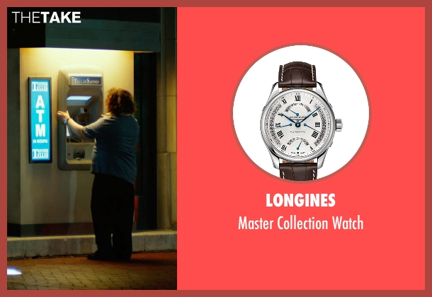 Longines  brown watch from Focus seen with Adrian Martinez (Farhad)