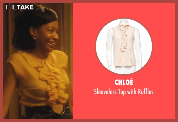 Chloé beige ruffles from Lee Daniels' The Butler seen with Adriane Lenox (Gina)